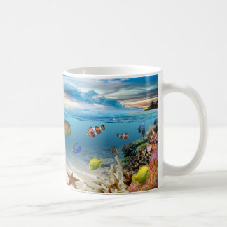 Underwater Coral Reef With Tropical Fish Coffee Mug