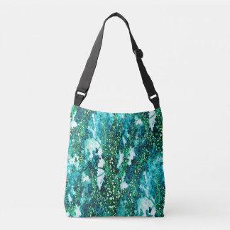 Underwater Forest (green) Crossbody Bag