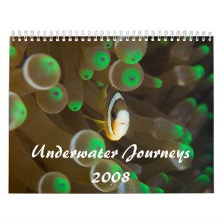 Underwater Journeys 2008 Wall Calendar
