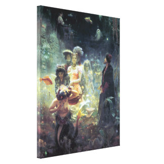 Underwater Kingdom Wrapped Canvas