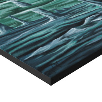 Underwater landscape canvas print