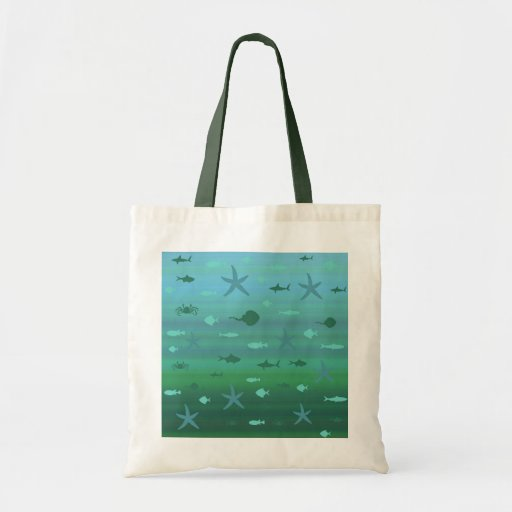 Underwater Life Canvas Bags