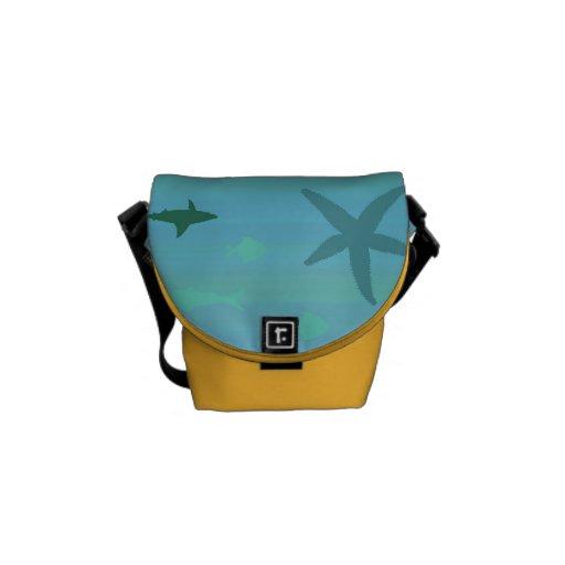 Underwater Life Messenger Bags