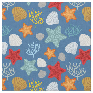 Underwater Life Pattern Fabric