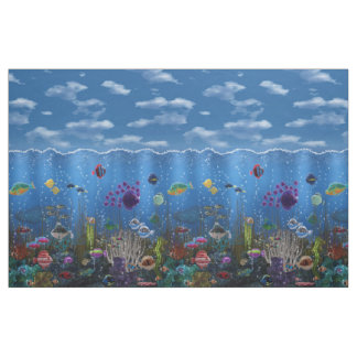 Underwater Love Fabric