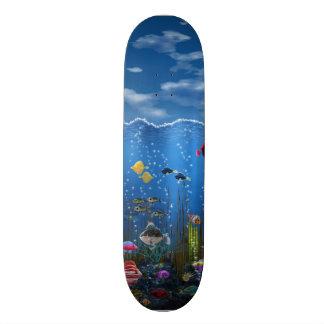 Underwater Love - Skate Board