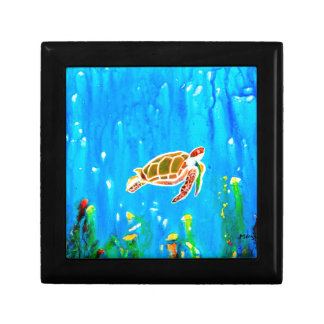 Underwater Magic 5-Happy Turtle excellent gift Gift Box