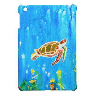 Underwater Magic 5-Happy Turtle excellent gift iPad Mini Covers