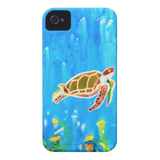 Underwater Magic 5-Happy Turtle excellent gift iPhone 4 Covers