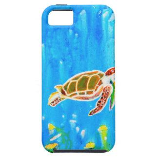 Underwater Magic 5-Happy Turtle excellent gift iPhone 5 Case