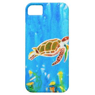 Underwater Magic 5-Happy Turtle excellent gift iPhone 5 Cases