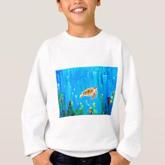 Underwater Magic 5-Happy Turtle excellent gift Sweatshirt