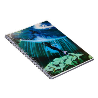 Underwater Mermaid by John Fermin Notebooks