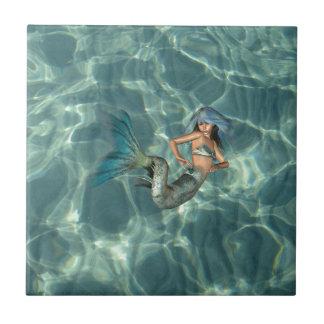 Underwater Mermaid Tile