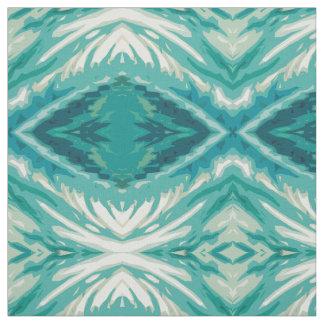 Underwater Mosaic fabric by Margaret Juul