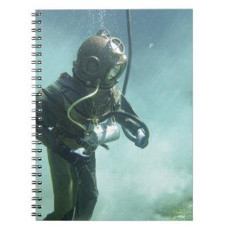 underwater notebook