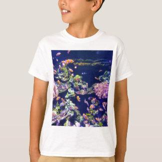 Underwater Orange Clown Fish Around Coral T-Shirt
