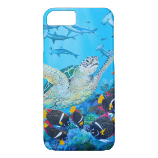 Underwater Painting Iphone Case - Galapagos