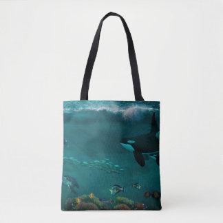 underwater scene tote