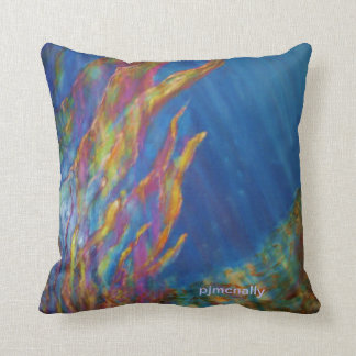"""Underwater Sea"" Throw Pillow"