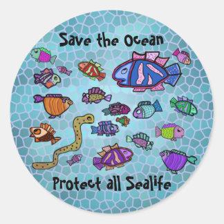 Underwater Sealife Ocean Stickers