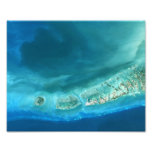 Underwater sediment formations near Key West, Flor Photo Print
