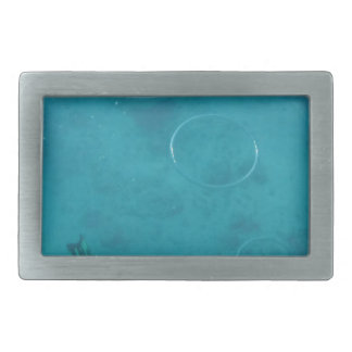 Underwater Smoke Rings Belt Buckle
