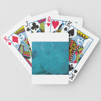 Underwater Smoke Rings Bicycle Playing Cards