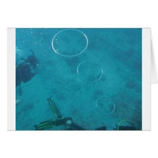 Underwater Smoke Rings Card