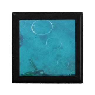 Underwater Smoke Rings Trinket Box