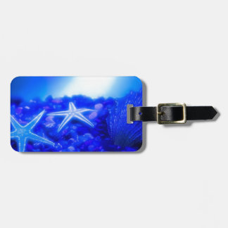 Underwater Starfish Luggage Tag