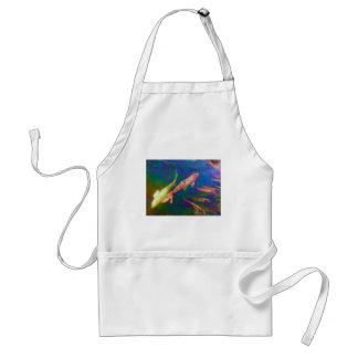 Underwater Tropical Fish Art Standard Apron