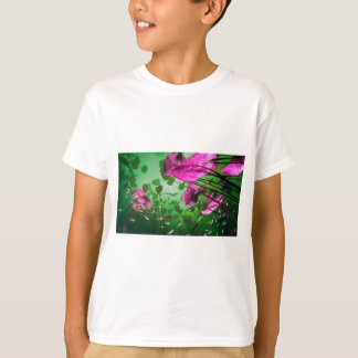 underwater view of Aktun Ha cenote near Tulum, T-Shirt