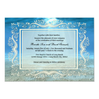 Underwater Wedding Invitation