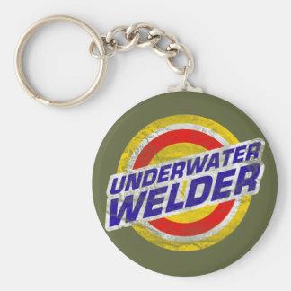 Underwater Welder Keychain