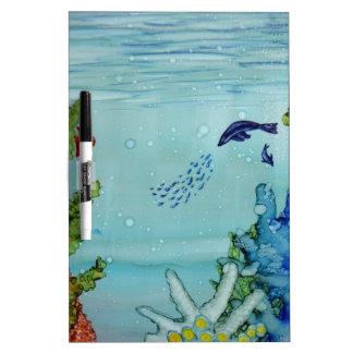 Underwater World #1 Dry Erase Board