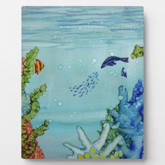Underwater World #1 Plaque