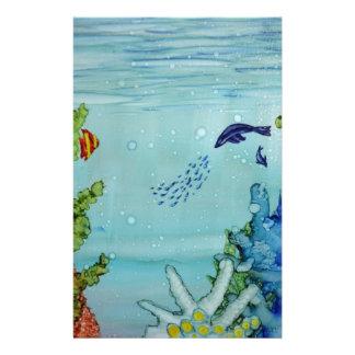 Underwater World #1 Stationery