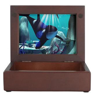 Underwater world keepsake box