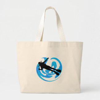 UNDERWATER WORLDS AMAZING LARGE TOTE BAG
