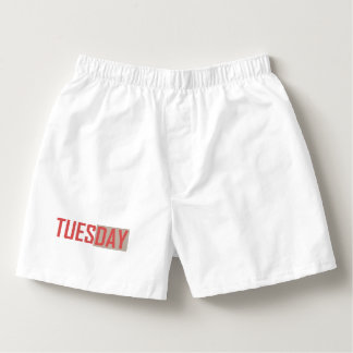 underwear tuesday boxers