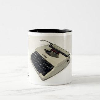 Underwood 255 typewriter Two-Tone coffee mug