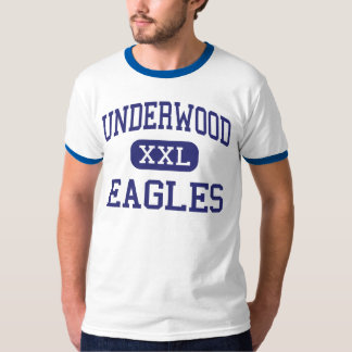 Underwood Eagles Middle Underwood Iowa T-Shirt