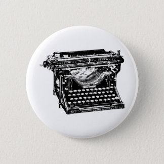 Underwood Typewriter Writer 2 Inch Round Button