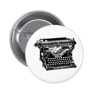 Underwood Typewriter Writer 2 Inch Round Button