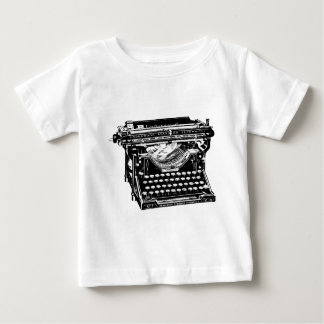 Underwood Typewriter Writer Baby T-Shirt