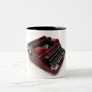 Underwood Universal typewriter - 1937 Two-Tone Coffee Mug