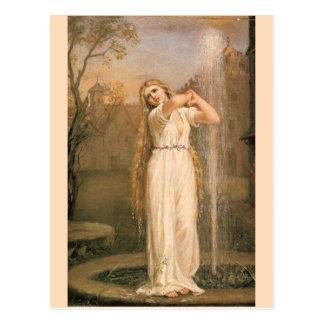 Undine by John William Waterhouse Postcard