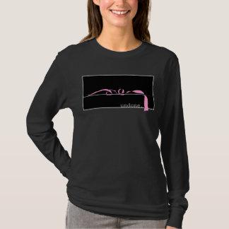 Undone pink ribbon T-Shirt
