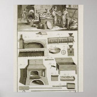 Une boulangerie et un équipement de cuisson, du 'E